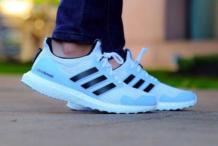 Got Adidas White Walker Ultraboost 1