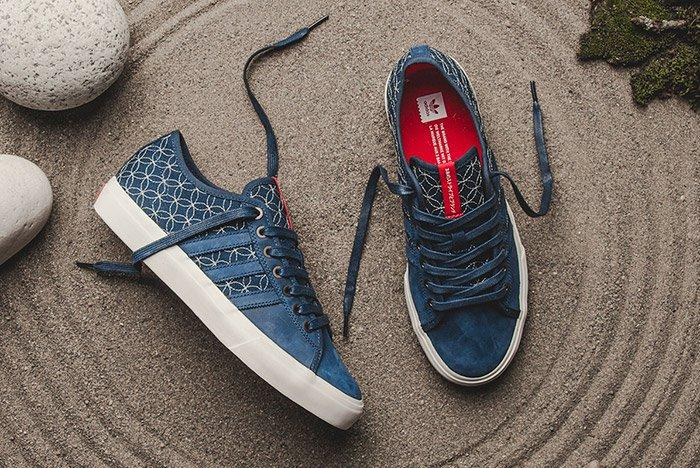 Adidas Matchcourt Rx Ltd Sashiko Blue 2
