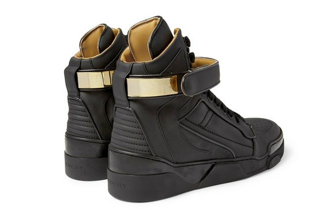 Givenchy Leather0High Top Sneakers 5