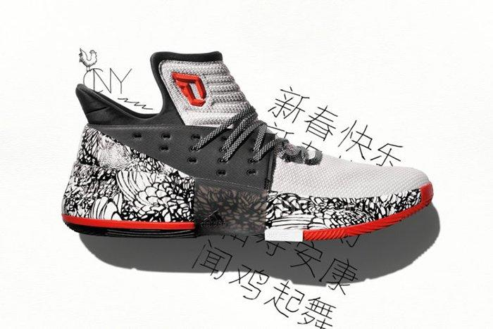 Adidas Dame 3 Chinese New Year 1