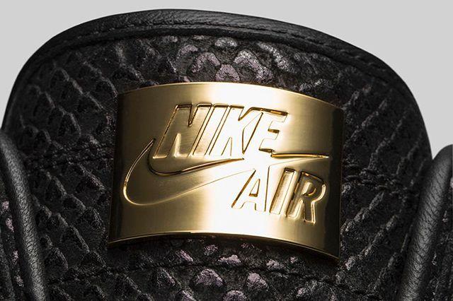 Air Jordan 1 High Pinnacle Black 4