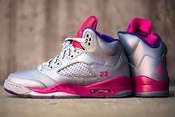 Air Jordan 5 Cement Raspberry Thumb