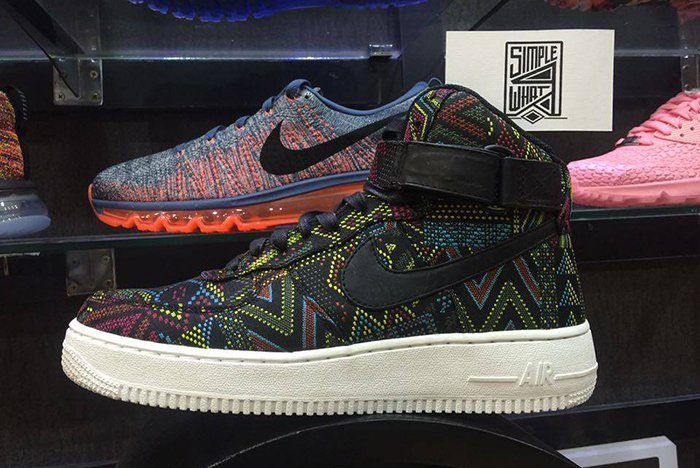 Nike Air Force 1 High Black History Month 20163
