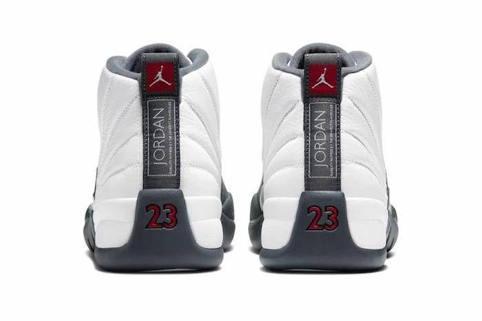 Jordan 12 Grey White 3