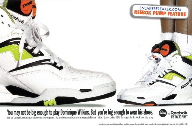 Reebok Pump Dominique Wilkins 11