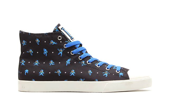 Mega Man X Ubiq 2015 High Top Sneakers 1