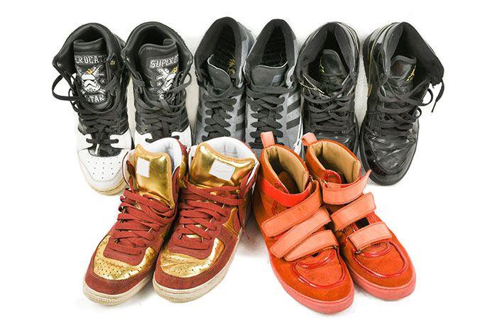Keith Flint Sneaker Auction 3