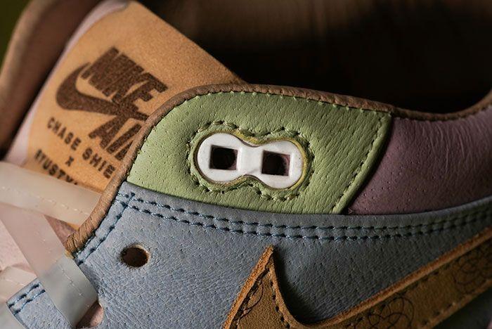 Chase Shiel Ryustyler Nike Air Max 1 Custom Wagashi Up Close1