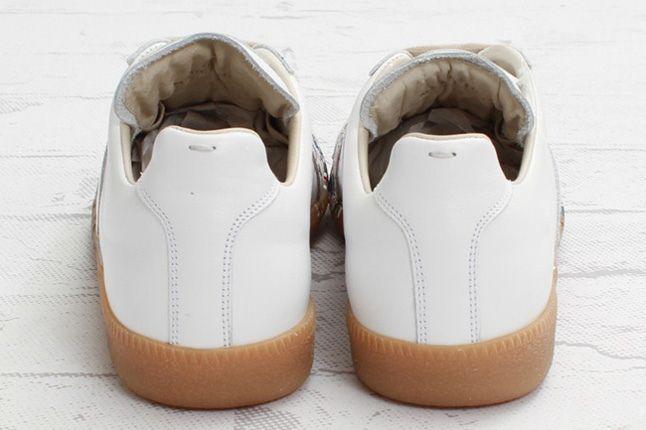 Maison Martin Margiela Lowtop Paint Splatter Heel Profile 1