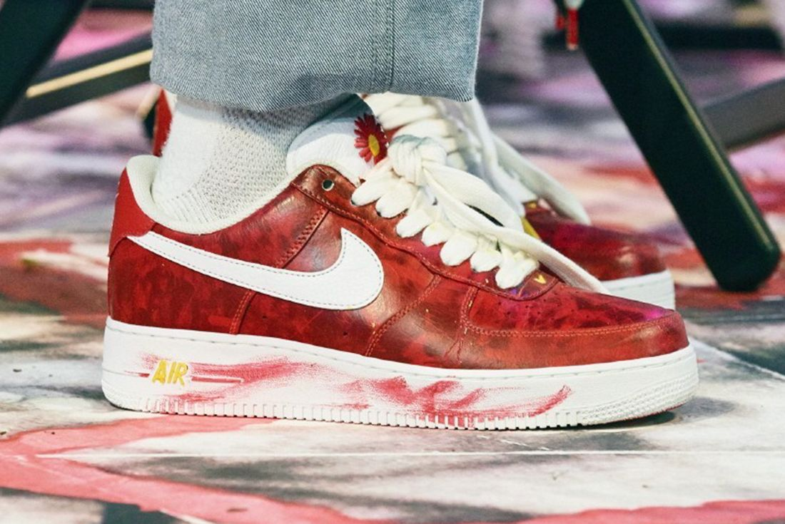 family and friends peaceminusone nike air force 1 paranoise 2.0
