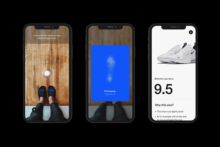 Nike Fit Digital Foot Shoe Size Scan