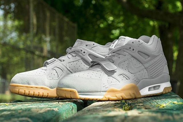Nike Air Trainer 3 Grey Suede Gum 3