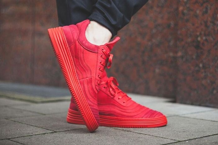 Filling Pieces Low Top All Red 2