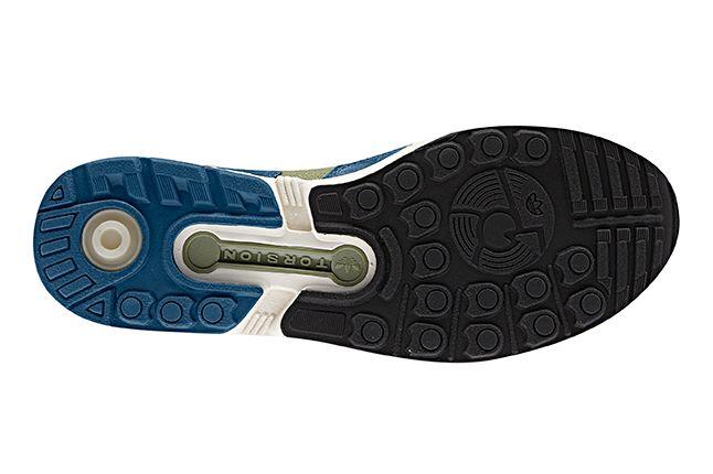 Adidas Originals Zx 5000 Blue Outsole