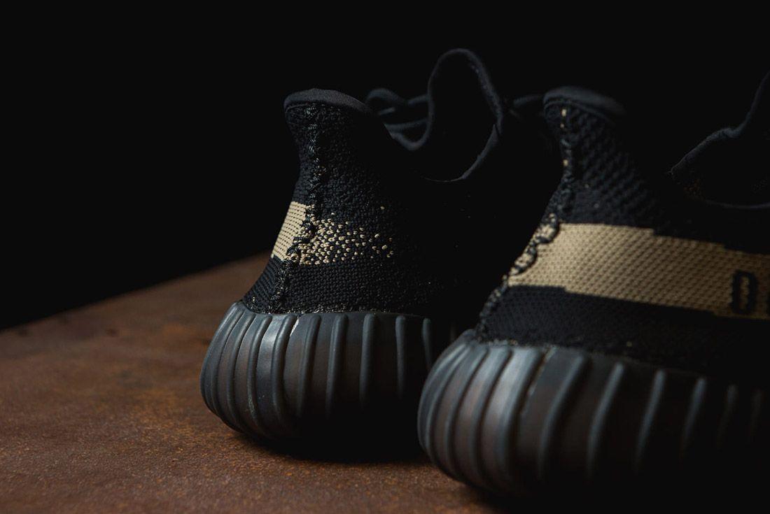 Adidas Originals Yeezy Boost 350 V2 Black Copper Solar Red Green 50