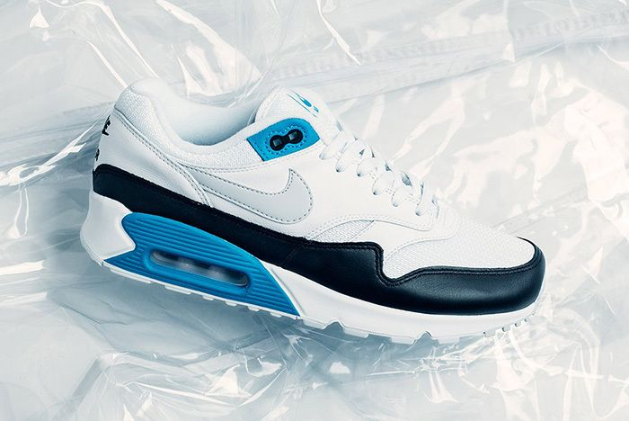 Nike Air Max 90 1 Neutral Grey White Laser Blue 1