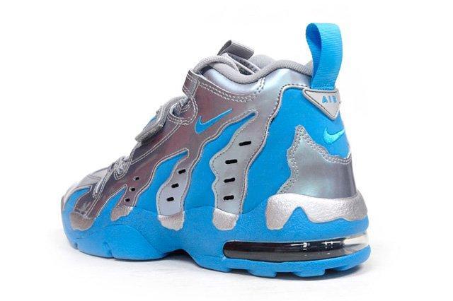 Nike Air Dt Max 96 Metallic Silver Vivid Blue 5