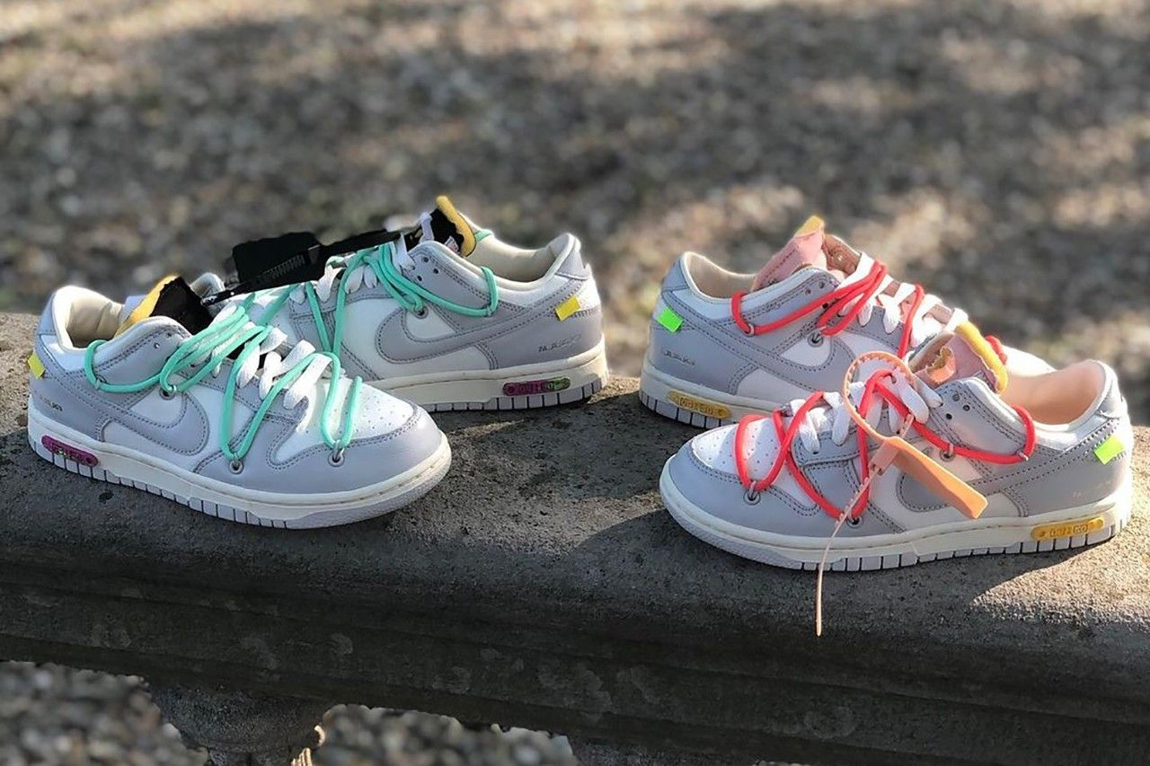 'The 50' Off-White x Nike Dunk Low 'Dear Summer' leaked