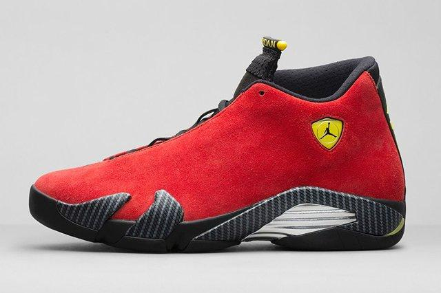 Air Jordan 14 Ferrari Bump 3