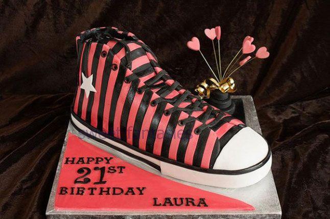 Sneaker Freaker Sneaker Cakes Chuck Taylor 1