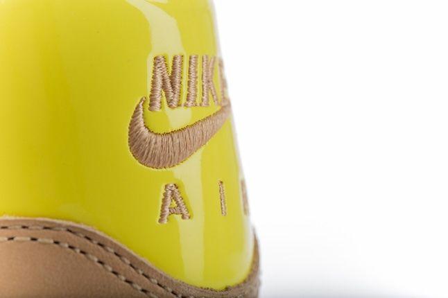 Nike Am1 Vt Vachetta Pack Yellow Heel Detail 1