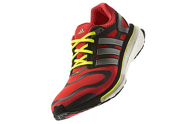 Adidas Energy Boost Red Quater Front 1