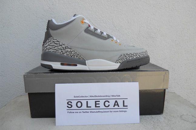 Air Jordan Iii Cool Grey 2