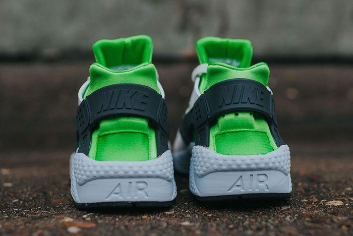 Nike Air Huarache Action Green 4