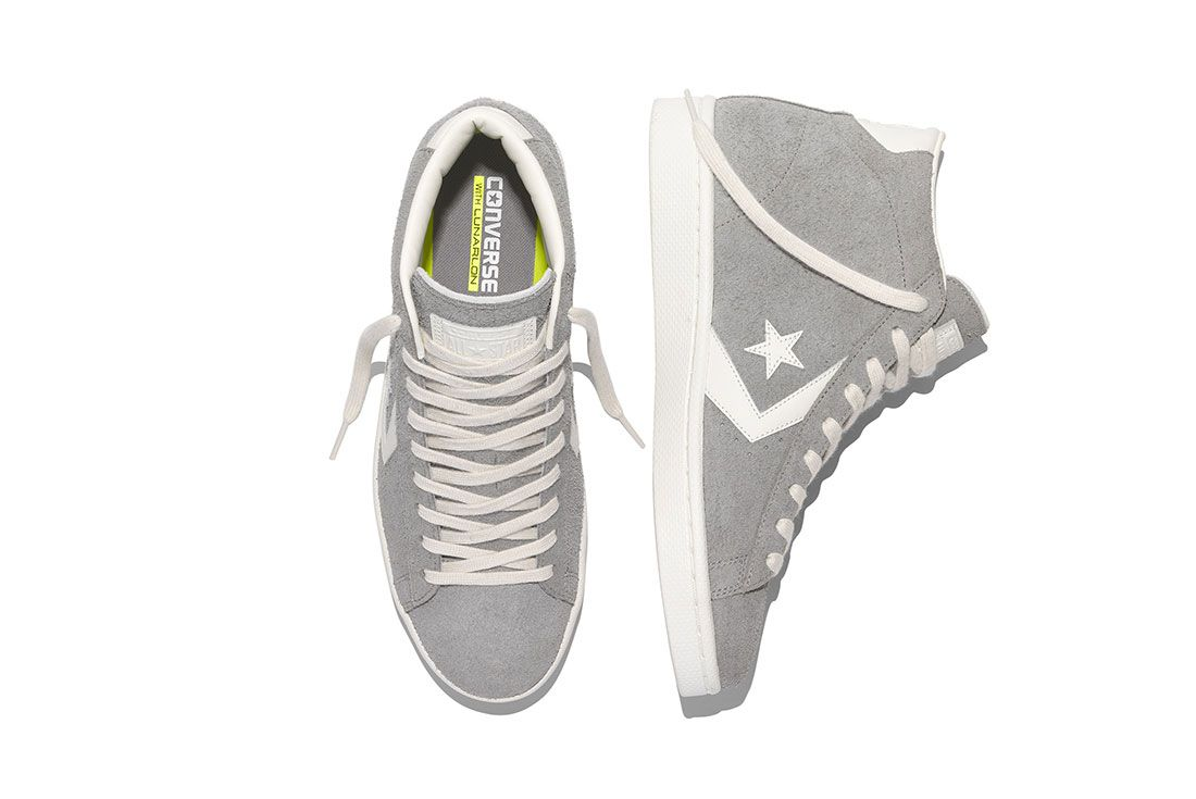 Converse Pro Leather 76 Vintage Suede Pack 3
