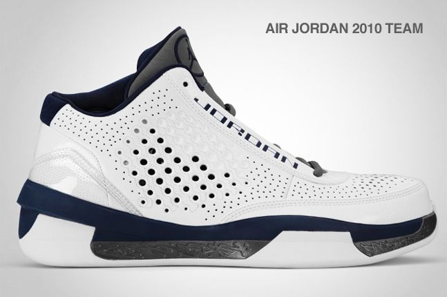 Air Jordan 2010 Team Navy 2