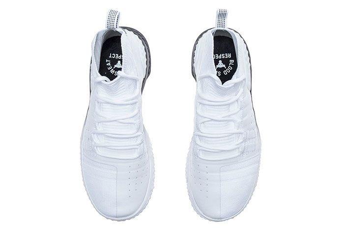 Ua Project Rock 1 White Black 3 Sneaker Freaker