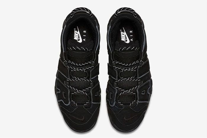 Nike Air More Uptempo Triple Black 4