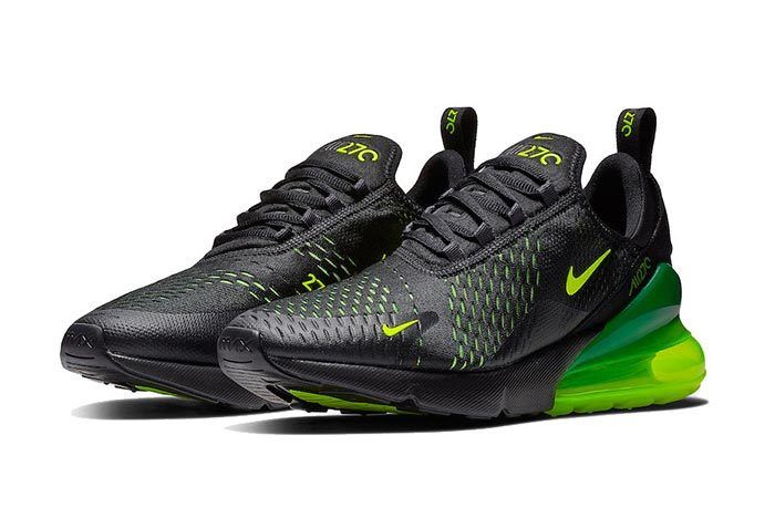 Nike Air Max 270 Black Volt 1