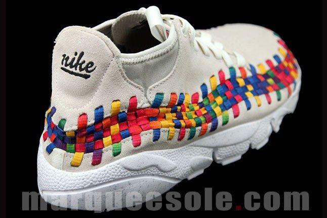 Nike Footscape Woven Chukka Rainbow 8 1