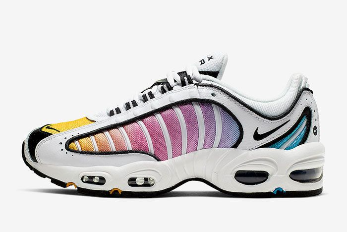 Nike Air Max Tailwind 4 White Multicolor Cj6534 115 Medial Side Shot