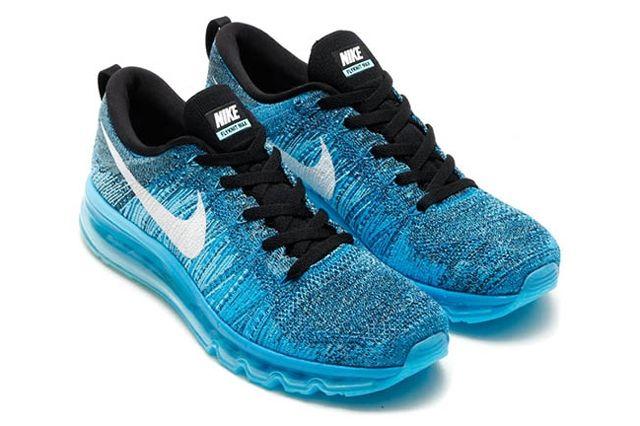 Nike Flyknit Air Max Tide Pool Blue