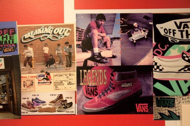 Steve Caballero Vans Scrapbook Wall Legends 1