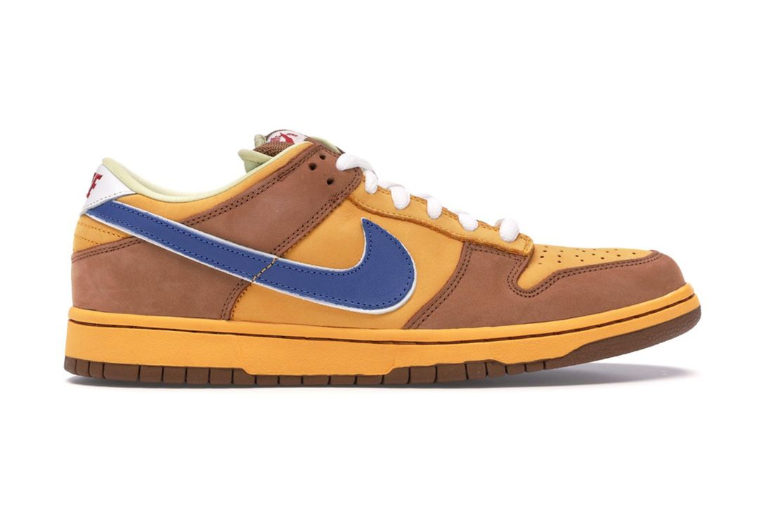 Nike Sb Dunk Low Newcastle 313170 741 Lateral
