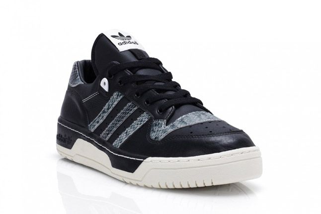 Black Adidas Rivalry Lo Limited Edition Quater Front 1