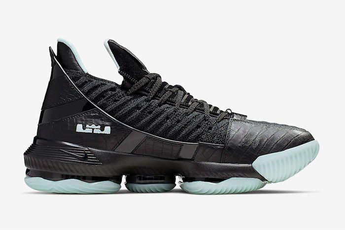 Nike Lebron 16 Glow In The Dark Right