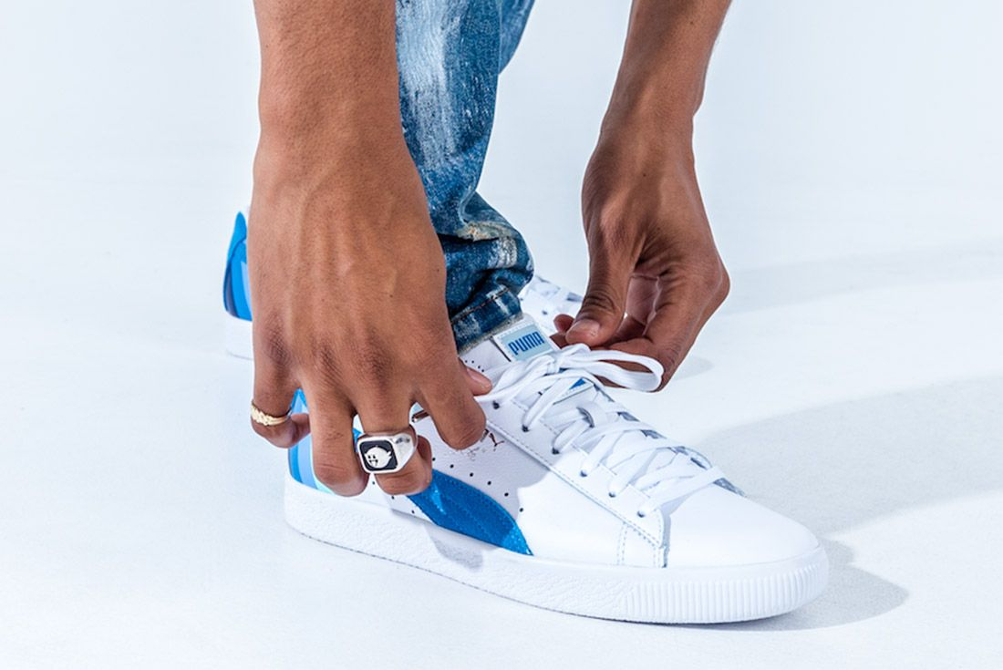 Pink Dolphin X Puma Clyde Pack Sneaker Freaker 4