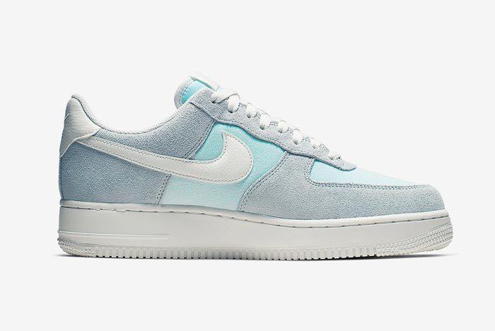Nike Air Force 1 Ghost Aqua Medial