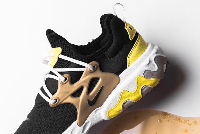 Nike React Presto Brutal Honey Av2605 001 Side Shot Close Up 6