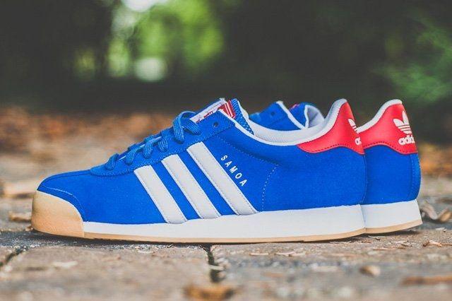 Adidas Samoa Red Blue Gum 6