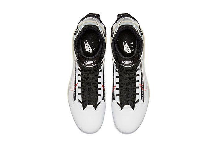 Nike Air Max 720 Saturn White Black University Red Top