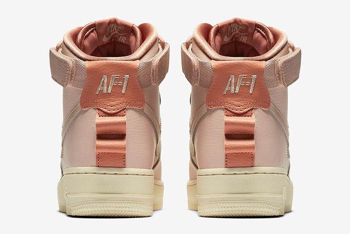 Nike Air Force 1 High Utility Rust 3