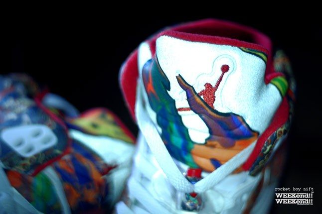 Air Jordan 5 Rocket Boy Nift Custom Tongue 1