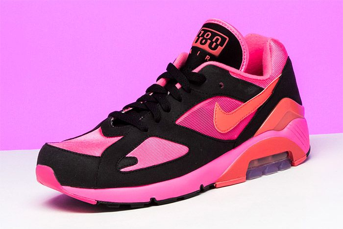 Comme Des Garcons Nike Air 180 Pink 4