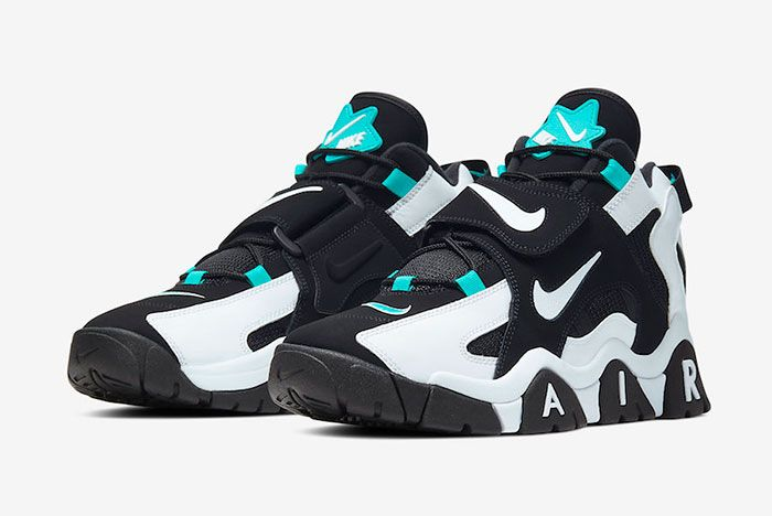 Nike Air Barrage Mid Black White Cabana At7847 001 Release Date 4 Pair