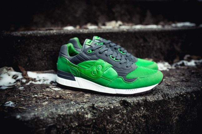 Saucony X Solebox Three Brothers Part 2 Green Profile 1